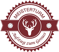 Waldgaststätte Meisterturm ° Über den Dächern von Hofheim Logo